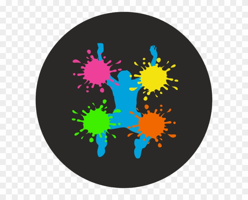 Holi Badge - Happy Holi Blank Clipart #556803