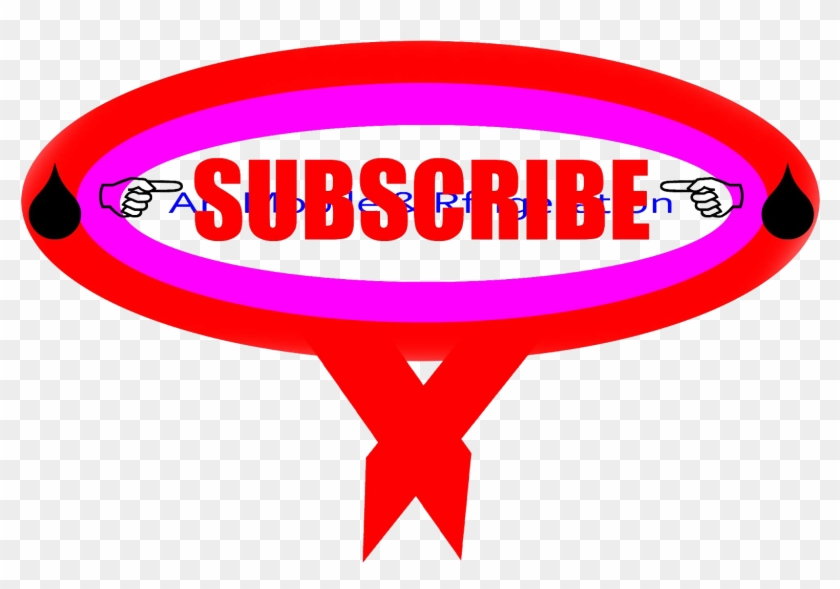 Youtube Subscribe Button Png - Oval Clipart #557885
