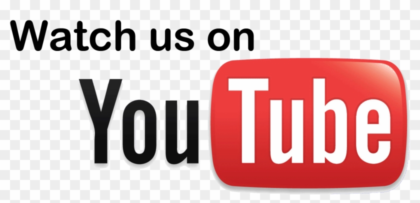 Youtube Png Transparent Images Png All - Watch Us On Youtube Png Clipart #558282