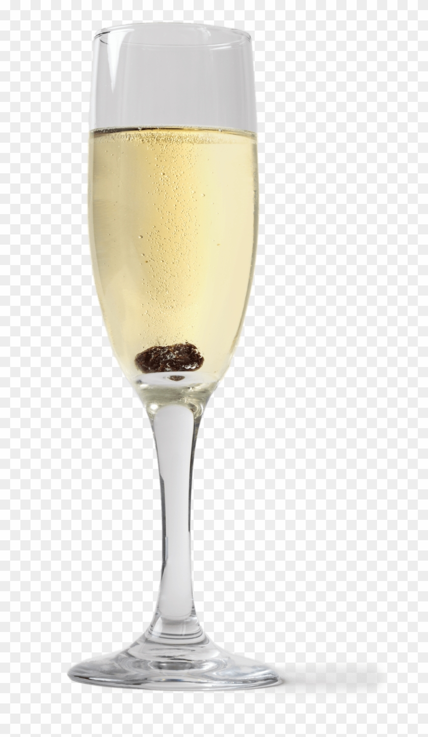 Can A Raisin Revive Flat Champagne - Wine Glass Clipart #558734