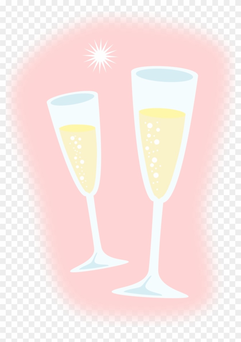 Jpg Black And White Download Champagne Glasses Clipart Free Champagne Glass Drawing Png Download 558837 Pikpng