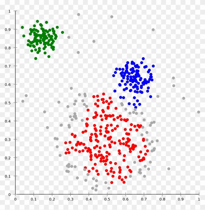 Machine Learning Algorithms - K Clustering Clipart #5522479