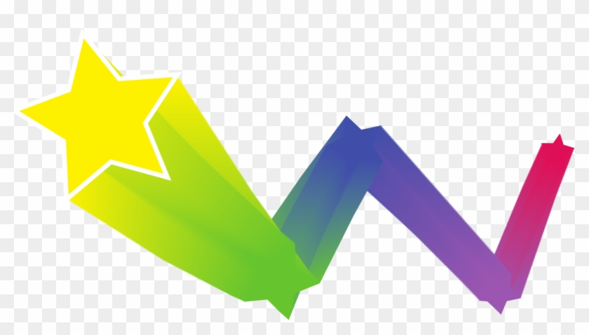 Star Computer Icons Art Color Gradient - Star Bouncing Clipart #5539966