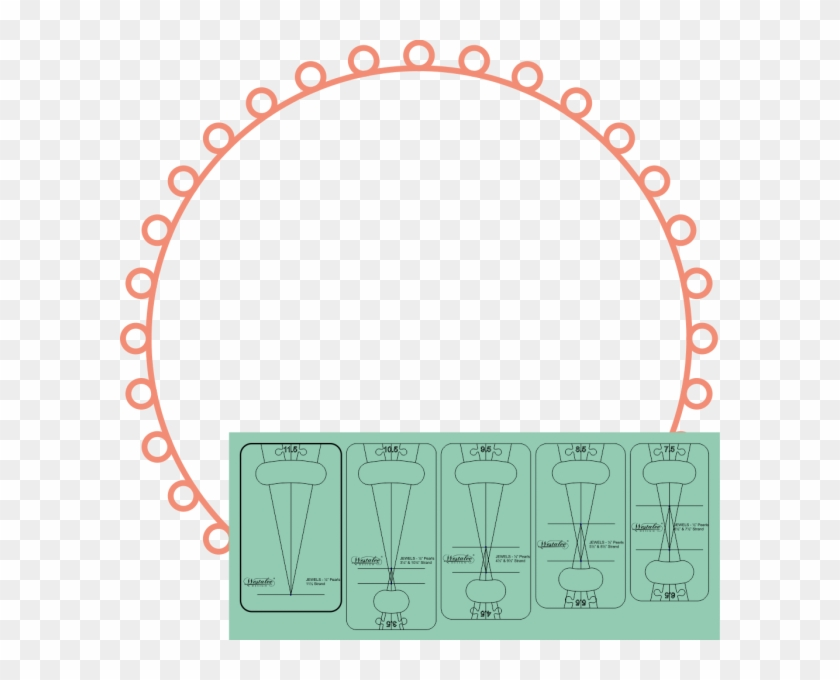 Westalee Design Strand Of Pearls 1/2″ Templates - Synergy Quantum Academy Logo Clipart #5541602