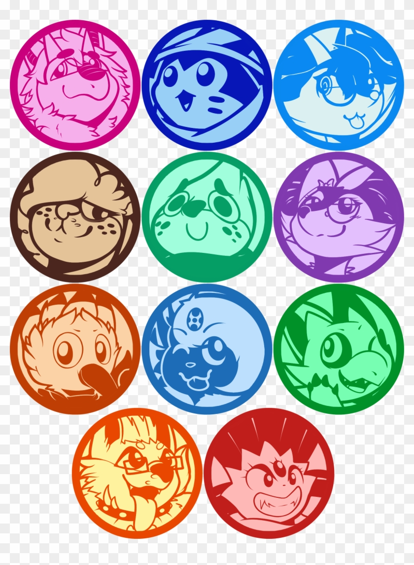 Kirby Star Allies Ych Pack - Circle Clipart #5541969