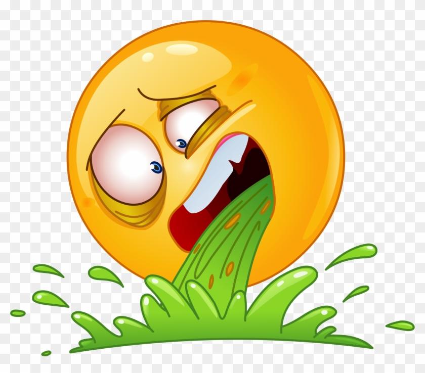 Throw Up Emoji Png - Sad Emoticon Clipart #5548576