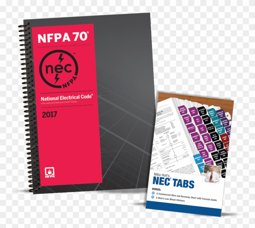 2017 Nec Basic Package Spiral Bound Version - National Electrical Code Clipart #5554356