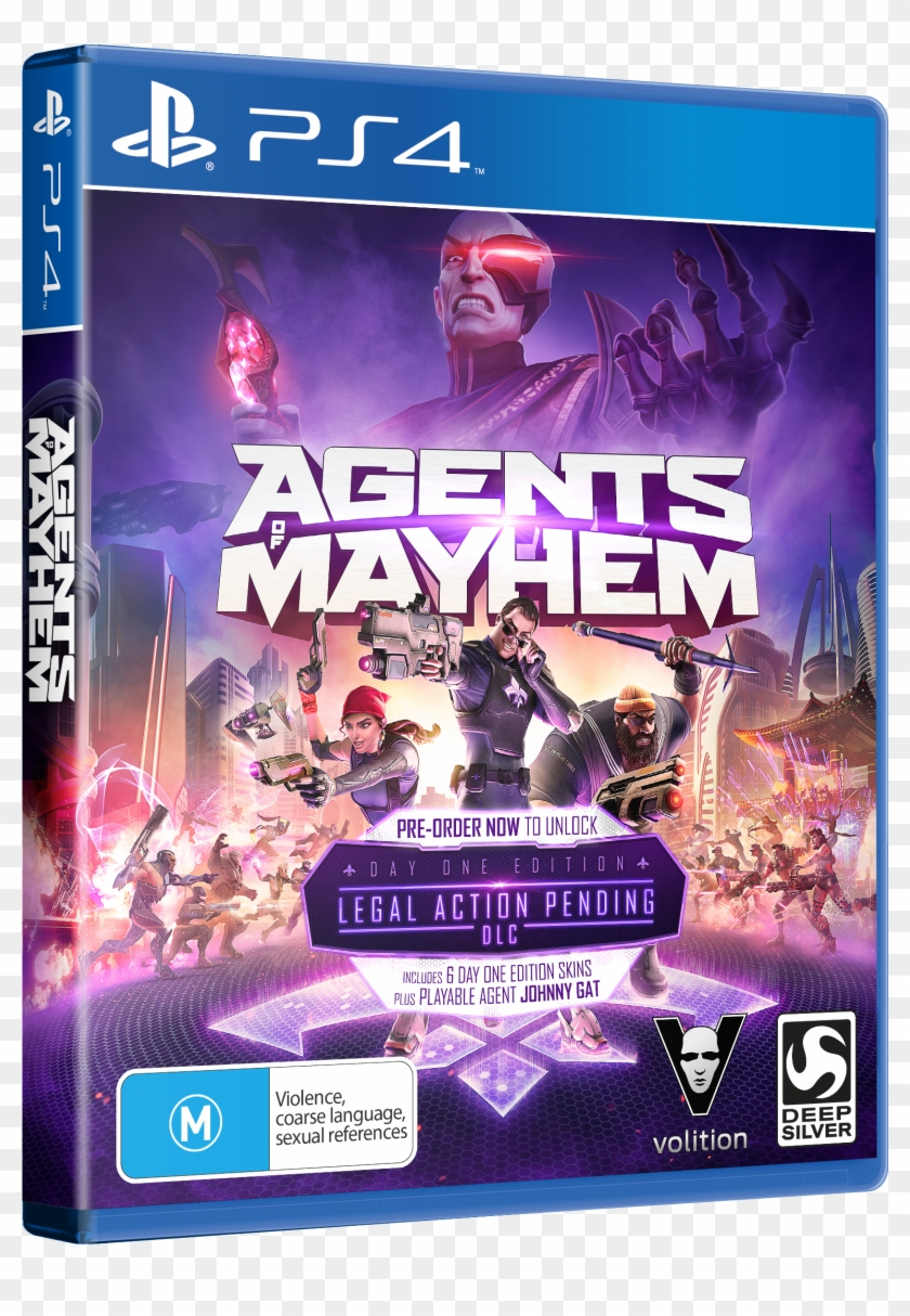 Ten Lucky Readers Will Win A Day One Edition Copy Of - Agents Of Mayhem Game Ps4 Clipart #5554707