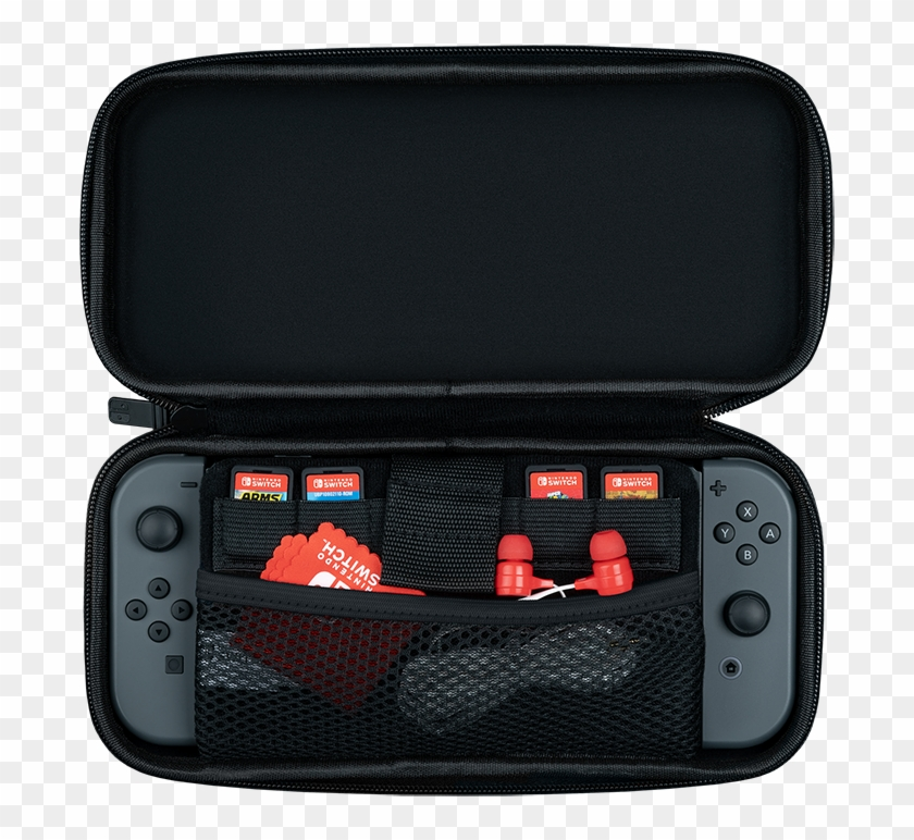 This Case Provides The Essentials In An Elegant Portable - Pdp Switch Slim Travel Case Clipart #5560193
