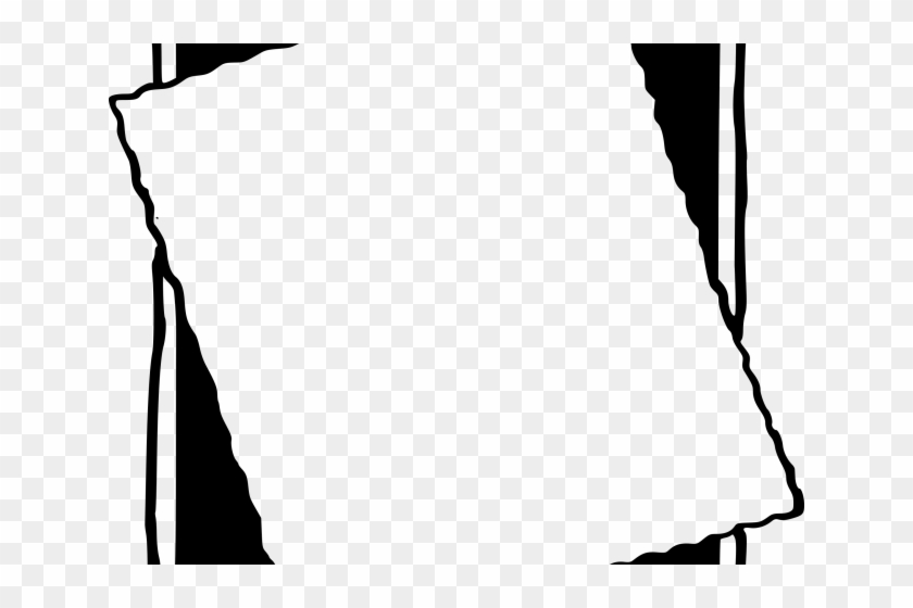 Simple Paper Borders - Simple Border Photo Frame Design Clipart #5561507