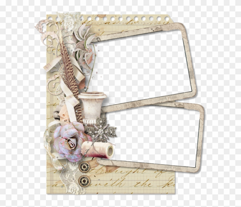 Frame Digital Photo Frame, Png Photo, Frame Background, - Clipart Frame Vintage Borders Transparent Png #5562398