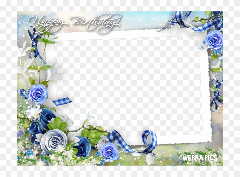 Happy Birthday Png Frames - Happy Birthday Frames Png Clipart #5582678