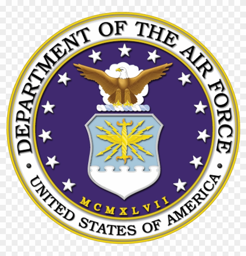 Us Military Logos Png - Official United States Air Force Logo Clipart #5598466