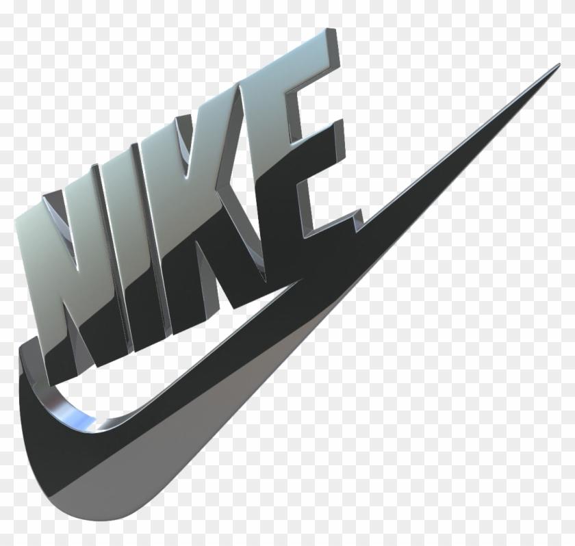 Me preparé Hipócrita caballo de fuerza  Nike Logo 3d Model Clipart (#561879) - PikPng