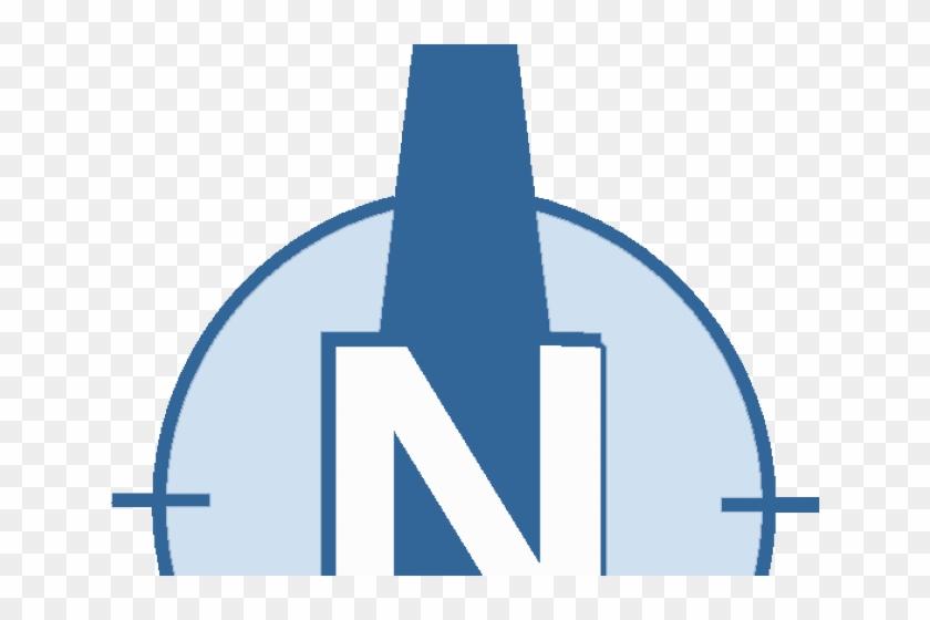 Compass Clipart North Arrow - Sign - Png Download #562110