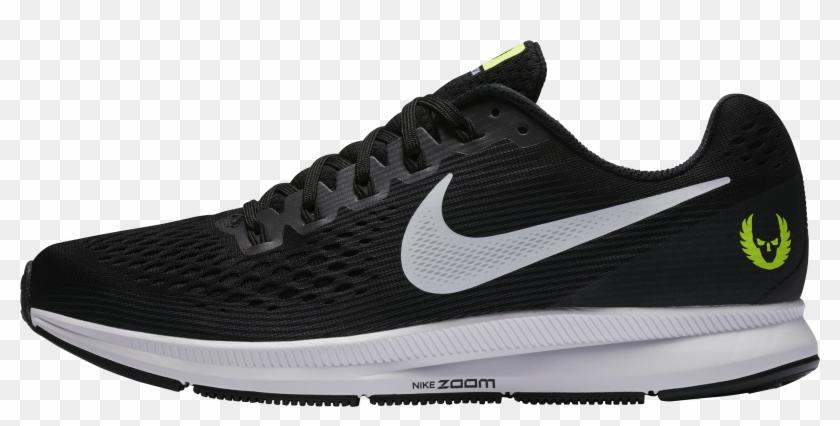 Nike Running Shoes Png Image Transparent - Pegasus 34 Verde Hombre Clipart #562497