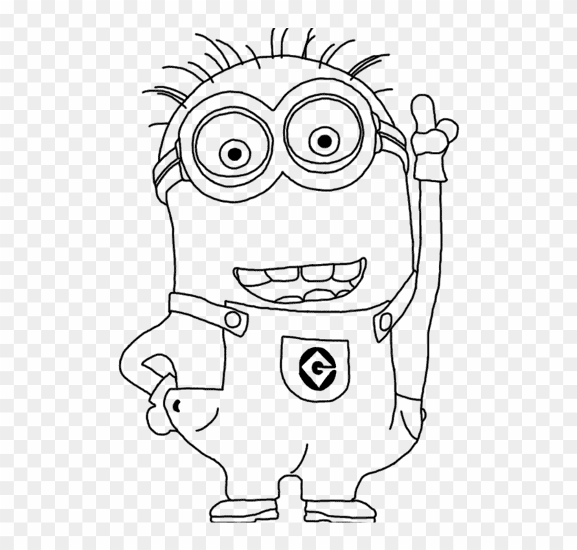 Minions Coloring Pages - GetColoringPages.com   800x840