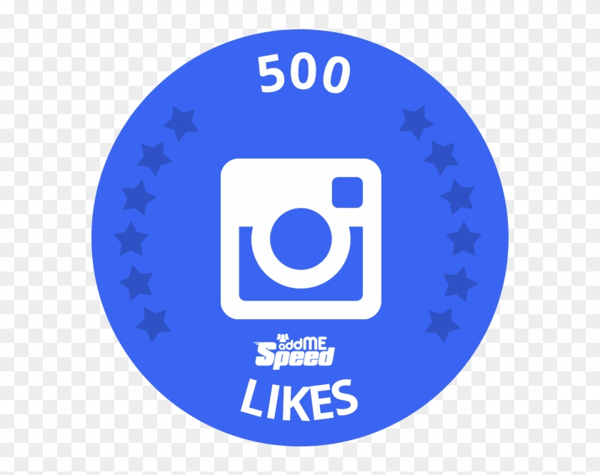 500 Likes - Instagram Clipart #5603446