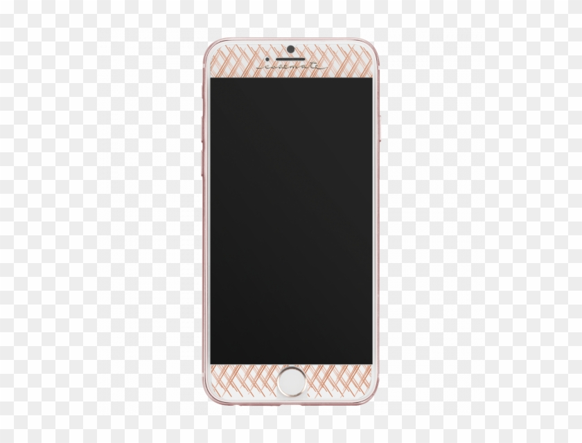 Case-mate Gilded Glass Screen Protector Guard For Iphone - Rose Gold Iphone 7 Screen Png Clipart #5605497