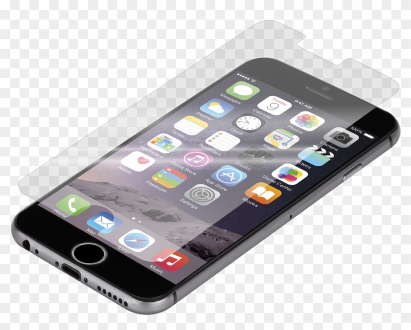 Iphone 6 Clear Glass Screen Protector Case - Screen Protector Clipart #5605916