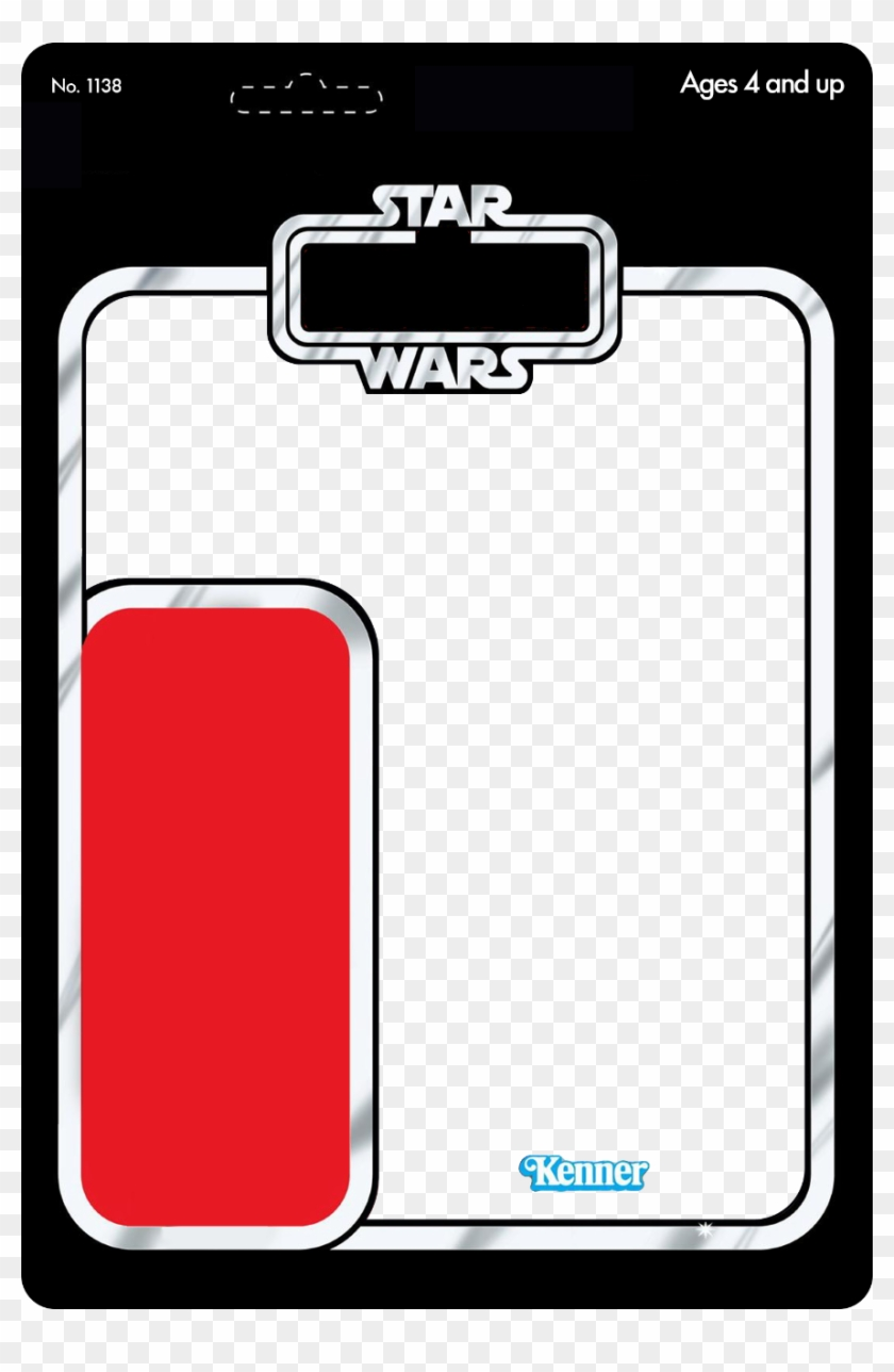 Png Star Wars Card Back Star Wars Action Figure Card Template Clipart 5610366 Pikpng