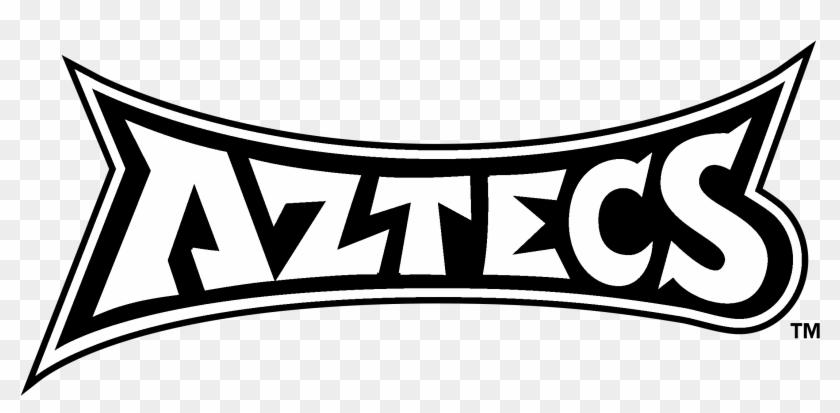 San Diego State Aztecs Logo Black And White - Aztecs Clipart #5630461