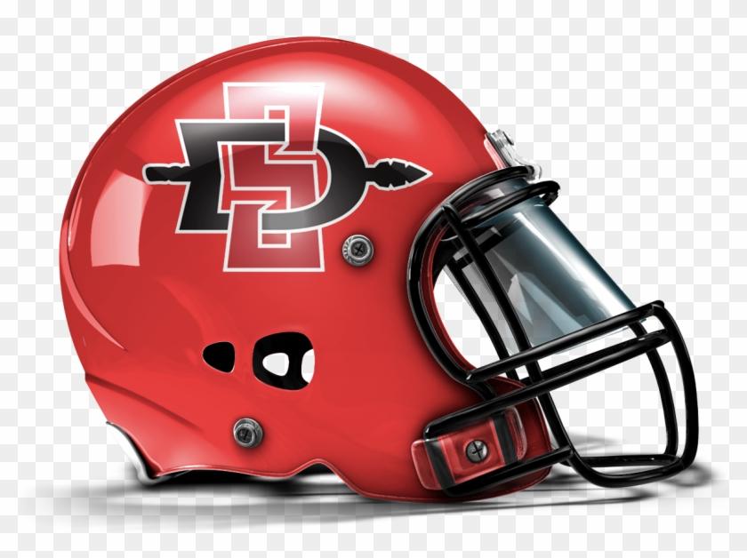 San Diego State Aztecs - Utah Football New Helmets Clipart #5630486