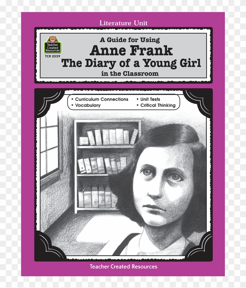 Tcr0559 A Guide For Using Anne Frank - The Diary Of A Young Girl Clipart #5631958