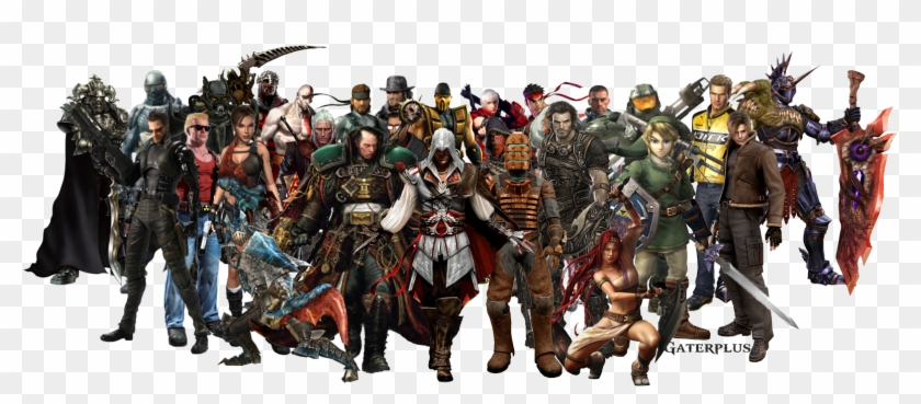 Games Png Image - Rpg Video Game Characters Clipart #5633349