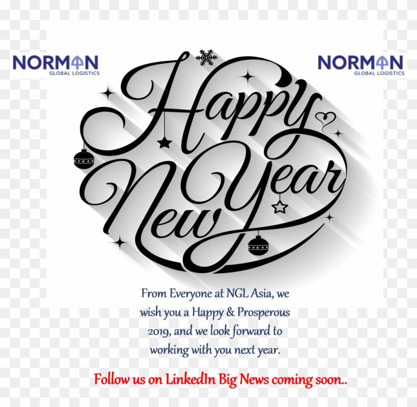 Image For Rc Freight Forwarders' Linkedin Activity - Best Wish Happy New Year Clipart #5646097