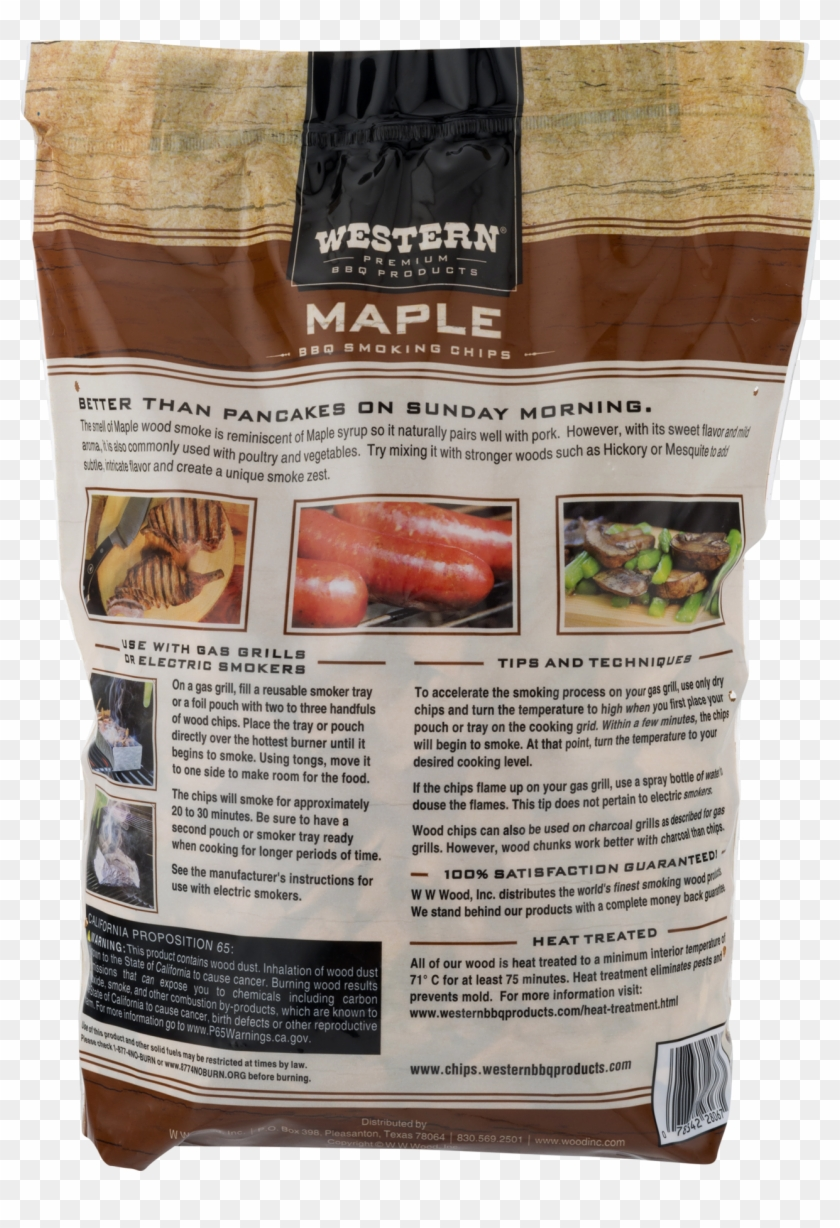 Western Premium Bbq Products Maple Smoking Chips, 180 - Cervelat Clipart #5647531