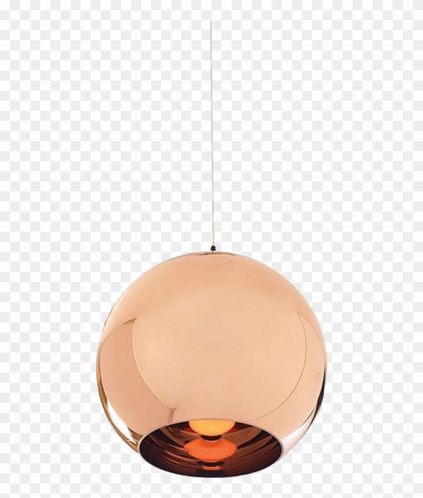 Grandma Lamp Png - Chrome Gold Pendant Light Clipart #5648413