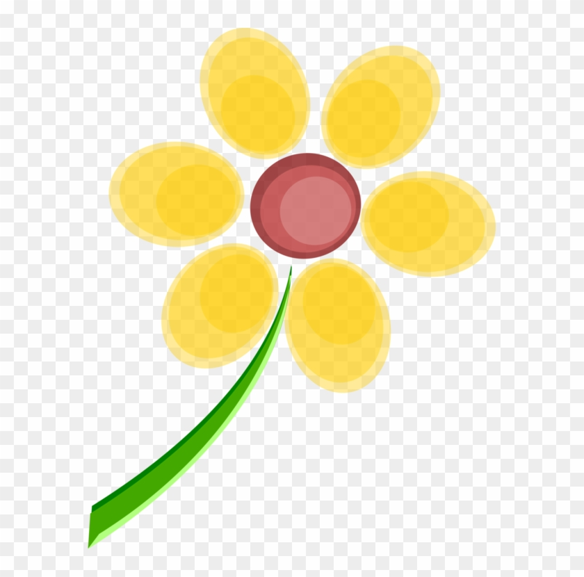 Flower Yellow Drawing Graphic Designer - Spring Flower Graphic Clipart #5648593