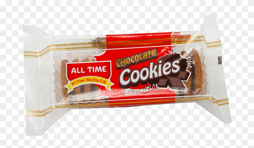 All Time Chocolate Cookie - Transparent Biscuit Packets Clipart #5650400
