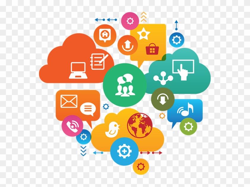 Social Media Marketing - 2018 Trend On Digital Marketing Clipart #5654947