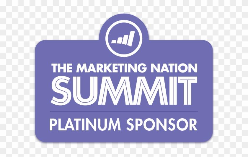Marketing Nation Summit Platinum - Electric Blue Clipart #5658292