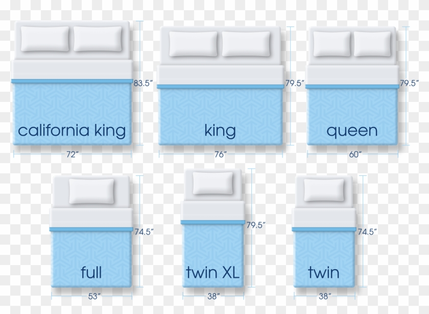 Portfolio King Mattress Size And Queen Comparison Serta - Queen Mattress Size Clipart #5660375