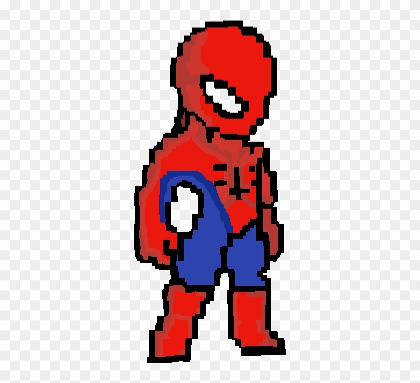 Spooderman - Pixel Art Spiderman 2099 Clipart #5661327