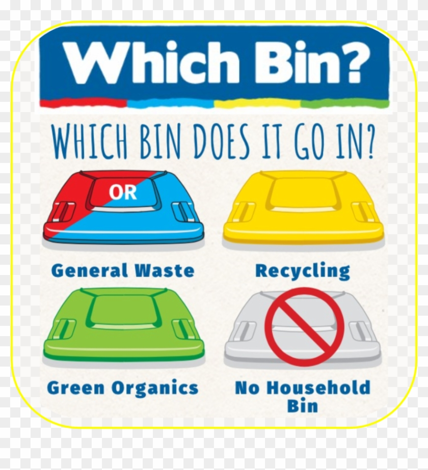 Join Us On Facebook , Png Download - Bin Does It Go Clipart #5661567