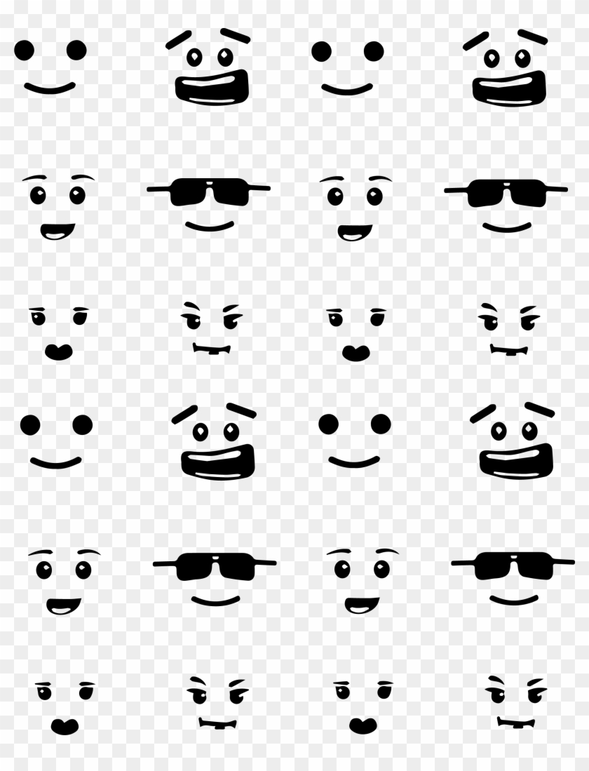 This is an image of Lego Faces Printable inside female face