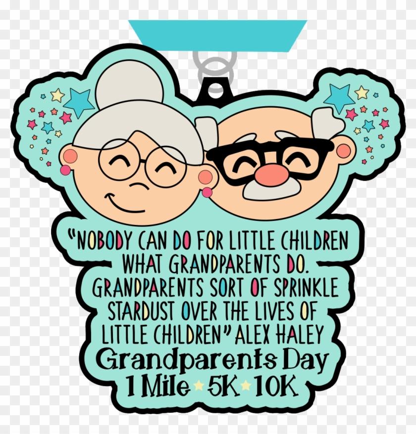 Grandparents Day 1 Mile, 5k & 10k- Orlando - Information On Grandparents Day Clipart #5668756