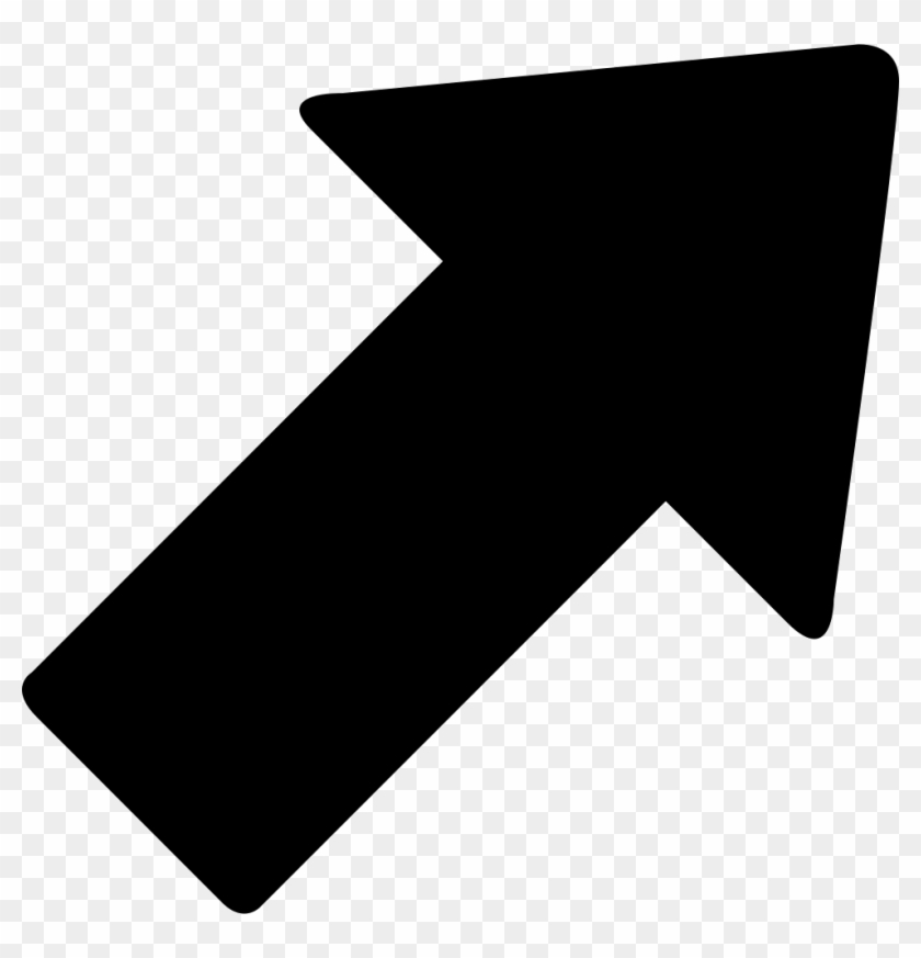 Cursor Arrow Comments - Arrow Pointing Up Right Clipart #5671147