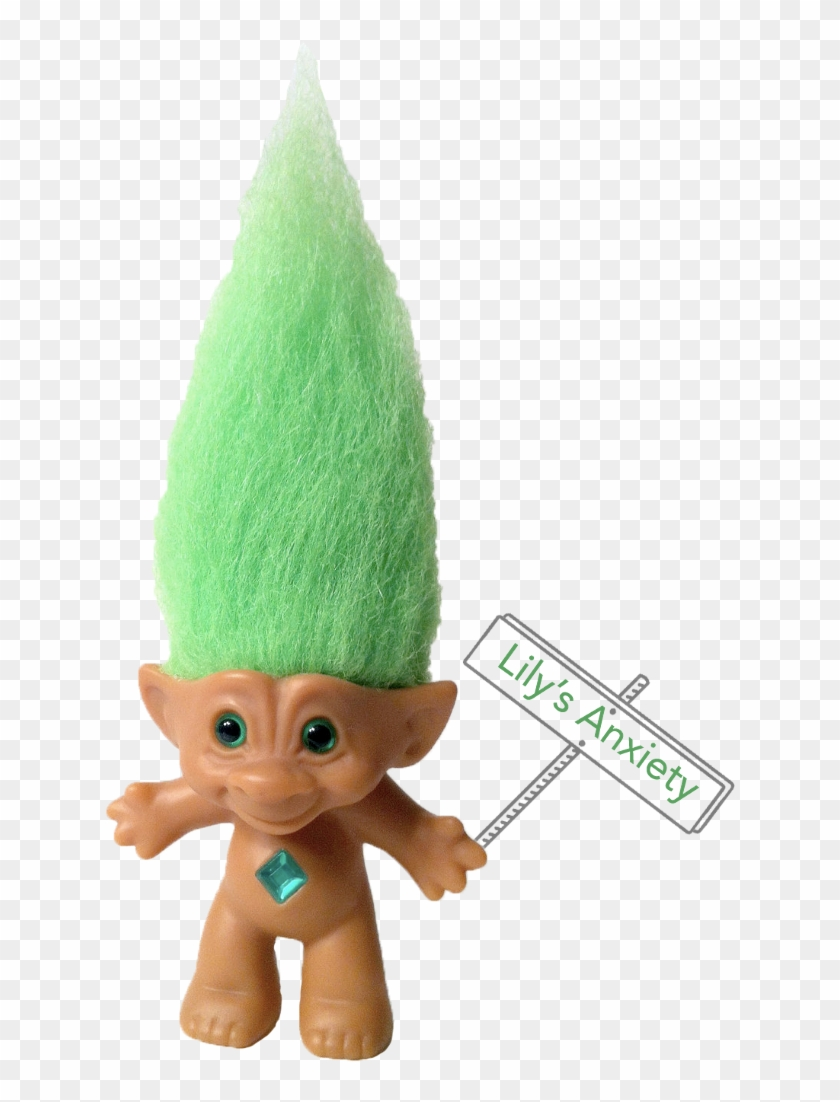 It Bears Striking Resemblance To The Troll Dolls Of - Plush Clipart #5671722