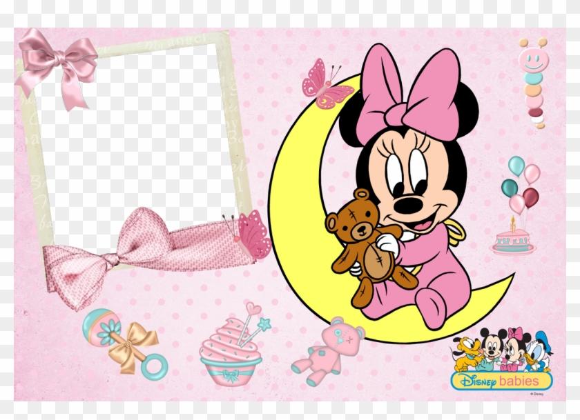 Marcos De Fotos Png Disney Baby ~ Marcos Gratis Para - Minnie Mouse Y Mickey Mouse Bebes Clipart #5675896