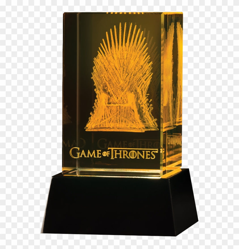 Game Of Thrones - Game Of Thrones 3d Crystal Iron Throne Clipart #5682042