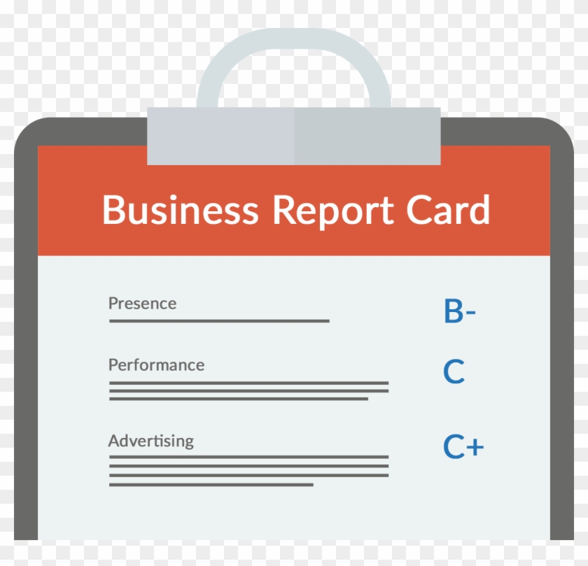 Free Report Card - Shopping Bag Clipart #5688012