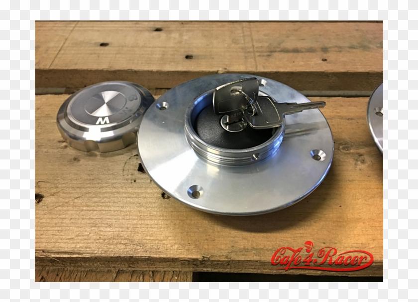 Bmw K75/100/1100 Fuel Tank Gas Cap Polished - Disc Brake Clipart #5692633