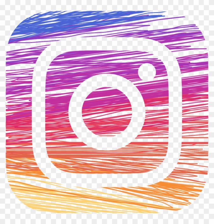 Instagram Png Transparent Background Instagram Logo Drawing Png Clipart 571648 Pikpng