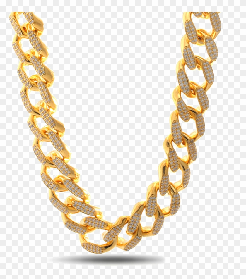 Thug Life Chain Png Image Background - Kalung Thug Life Png Clipart #571761