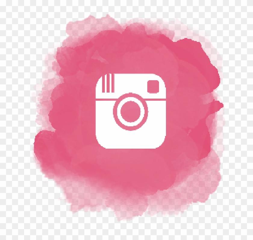 Pink Instagram Logo Transparent - Pink Instagram Logo Png Clipart #571764